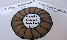 Mirrodin assediato complete Basic paese Set // 15 | 15 // NM-EX // Deut.