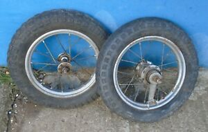 2 x Räder DDR Roller Dreirad Liliput Rad Felge Ostalgie Top Fahrrad chic !!!