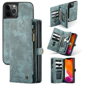 CaseMe Leather Flip Card Wallet Phone Case For Huawei P20 P30 Lite Mate 20 Pro