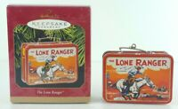 Keepsake Hallmark Ornament 1997 The Lone Ranger Lunchbox NEW Xmas Collectible