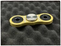 Custom Brass With Stainless Steel Inlays Ceramic Bearings EDC Fidget Spinner