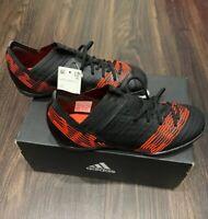 Adidas Nemeziz Tango 17.3 Kids Indoor Turf Soccer Shoes CP9237 Black Size 4