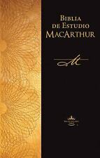 Biblia de estudio MacArthur (Spanish Edition), New, Free Shipping