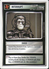 STAR TREK CCG WHITE BORDER PREMIERE 1995 BETA RARE CARD CROSIS