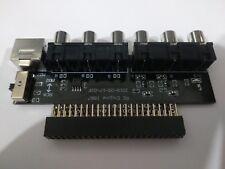 PC Engine AV Booster RGBS output TurboGrafx 16 Composite RCA RGB SCART