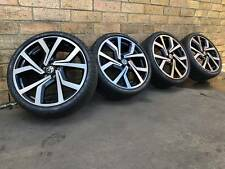 VOLKSWAGEN POLO GENUINE 18 INCH WHEELS AND TYRES NEW PACKAGE