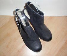 NEW Schuh ladies black nubuck fashion boots size UK 7 EU 40