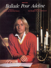 "Richard Clayderman ""Ballade Pour Adeline"" SHEET MUSIC-PIANO SOLO-NEW ON SALE!!"