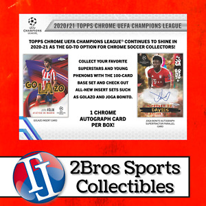 20-21 UEFA CL Chrome 6 Hobby Box Half Case Break 6/22 3pm CST - Club Brugge