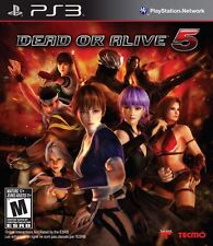 Dead or Alive 5 (Sony PlayStation 3, 2012)