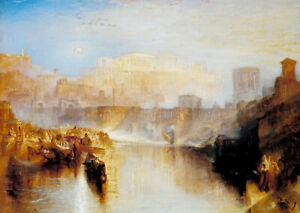 Ancient Rome Agrippina Ashes of Germanicus J.M.W. Turner wall art print