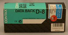 Contax AX Data Back D-8 Original Case  Read