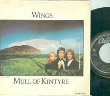 "PAUL McCARTNEY WINGS - MULL OF KINTYRE (  DUTCH LIM.ED. TEXTURED SLEEVE) 7""PS"