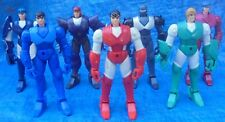 Ronin Warriors Action Figure Lot 1995 Talpa Ryo Rowen Cale Harriel Anubis Sage