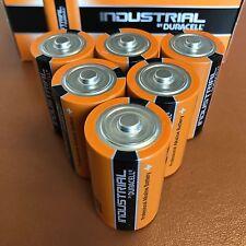 6 X Duracell D Size INDUSTRIAL PROCELL Batterie Alcaline lr20 mn1300 D Cell
