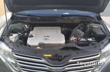 AF Dynamic Cold Air Filter intake for Venza 09-15 3.5L V6 2GR-FE +Heat Shield