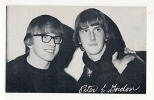 Peter & Gordon 1960's Bio Back Billboard Exhibit Arcade Card