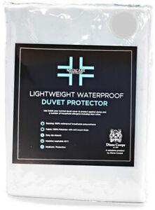 Medicare WATERPROOF DUVET COVERS Soft Rustle Free Fabric Zip Fastening Discreet