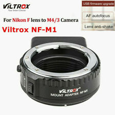 Viltrox NF-M1 AF Lens Adapter for Nikon F NF to Micro 4/3 M4/3 Panasonic Camera