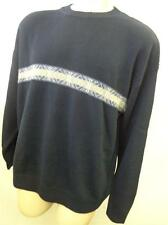 mens NAUTICA  NAVY WOOL BLEND KNIT CREWNECK sweater shirt XL X LARGE nordicCLEAN