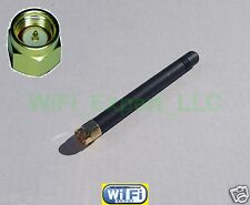 "1 x HIGH GAIN 2dBi 900/1800 MHz SMA Male Plug Straight GSM GPRS Antenna 3"" USA"