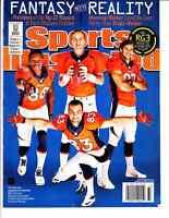 2013 DENVER BRONCOS VS RAVENS TICKET STUB 9/5/13 PEYTON MANNING 7 TD RECORD GAME Vintage Sports Memorabilia Ticket Stubs