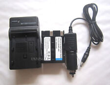 New Replace Battery with charger D-Li50 BP-21N For Konica Minolta Dynax 5D 7D