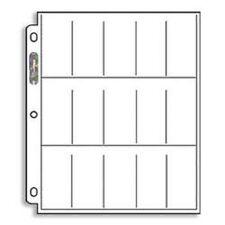 10 ULTRA PRO PLATINUM 15 POCKET PAGES 1 1/2 X 2 1/2