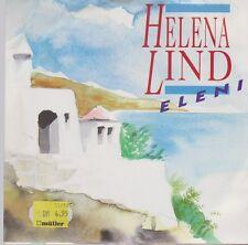 """7"""" Helena Lind Eleni / Santorini 90`s Polydor Musicland"""