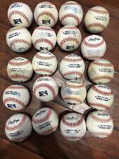 20 Minor League Baseball Batting Practice Used baseballs Excellent Condition MLB