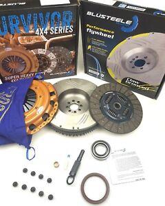 HEAVY DUTY SURVIVOR Clutch Kit & F/WHEEL FOR HILUX KUN26R 3.0 1KD-FTV Turbo 275m