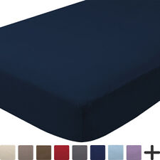 Fitted Bottom Sheet 100% Cotton Velvet Flannel - Extra Soft Heavyweight