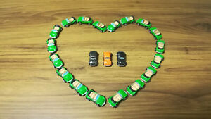 Micro Machines VW Beetle Lot of 18 with 3 bonus