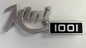 Genuine OEM Innocenti Mini 1001 Badge for Boot lid or grille NOS