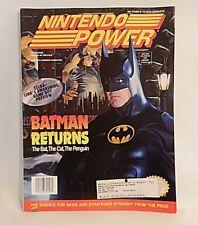 Nintendo Power Magazine Vol. 48, Batman Returns, w/Bubsy Poster+Power Club Card