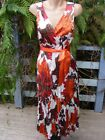 NEW Silky CRUSH FABRIC Cocktail DRESS Size 10 High Bodice RRP$69.95 SuzanneGrae