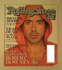 Rolling Stone Magazine - AUGUST 21 2008 TO HELL AND BACK ROBERT DOWNEY JR.