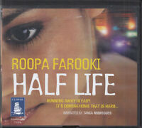 Roopa Farooki Half Life 7CD Audio Book Unabridged Contemporary Romance FASTPOST