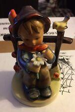 VINTAGE - Hummel Figurine #174 - She Loves Me She Loves Me Not - TMK-2