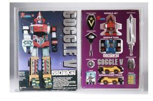 Graded 90! Goggle V Robot Godaikin Popy Bandai Vintage Sentai DX Power Rangers