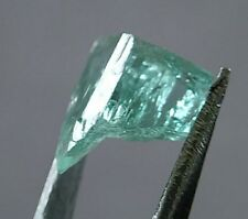 Amazing Green Emerald Rough Crystal, 1.69ct DR+ CF+ 8.3x 7.3x4.9mm HAWAII SELLER