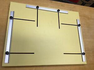 Saunders 20x16.5 Metal Adjustable Borderless Enlarging Easel With 3 Blades