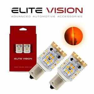 EV 1156 Amber Canbus LED Turn Signal for Pontiac No Hyper Flash Error Free 3000K