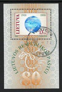 Lithuania  Souvenir Sheet.................01L................B 209
