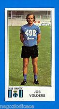 FOOTBALL 1976 BELGIO -Panini Figurina-Sticker n. 140 - J. VOLDERS -C BRUGGE-Rec