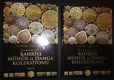 Collection of Ottoman Naval Seals and Stamps 2 Bound Istanbul Naval Museum