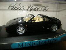 1:43 Minichamps Ferrari F 355 Targa 1994 black/schwarz Nr. 430074050 in OVP
