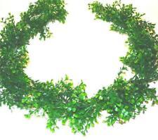 6 FT (ca. 1.83 m) artificiale di Bosso Leaf Garland-Ghirlanda Decorativa Verde