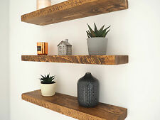 RUSTIC FLOATING SHELVES %7c CHUNKY WOOD SHELF %7c MANTEL TIMBER PINE
