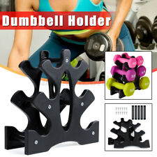 Home Fitness Gym Exercise 3 Tier Dumbbell Hand Weight Storage Holder Stand Rack